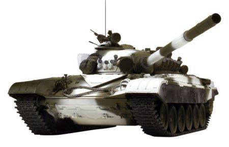 Радиоуправляемый танк VSTANK PRO Russian Army Tank T72 M1 1:24 Airsoft (Winter Camouflage RTR Version)